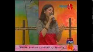 BOJHENA SE BOJHENA - MADHURAA BHATTACHARY's Title Song of 'STAR JALSA' live on Akash Aat