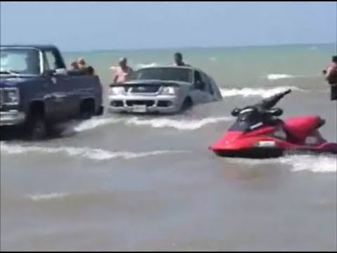 Funniest boat launch ever!