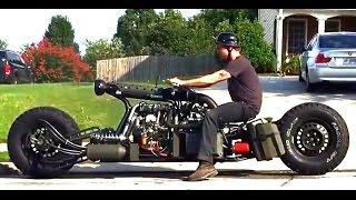 สุดยอดไอเดียกับรถมอเตอร์ไซด์ขับเคลื่อน 2 ล้อ 2WD motorcycle