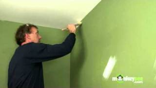 Painting Walls - Edging with a Brush