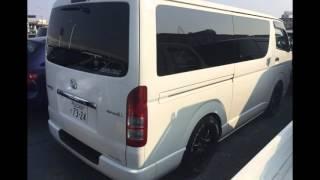 Japanese Used Cars,Voiture Japonaise TOYOTA HIACE 2007