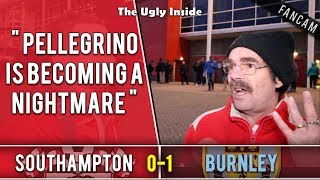 Pellegrino is becoming a nightmare   Southampton 0-1 Burnley   The Ugly Inside