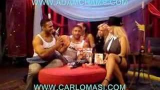 Carlo Masi and Adam Champ at the Sabrina's show