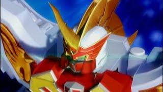 Power Rangers Mystic Force - Brightstar and Phoenix Unizord Battle (Heir Apparent Episode)
