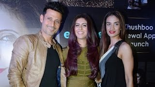 App Launch Of Khushboo Grewal With Her Birthday Celebration