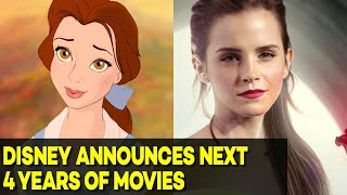 Disney Announced All Its Movies for the Next 4 Years