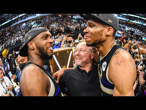 2021 NBA Championship Postgame Celebration