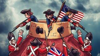 Minecraft | Good vs Evil - BATTLE OF BUNKER HILL! (Great Britain vs Patriots)