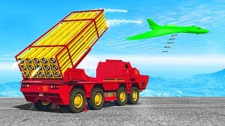 MASSIVE MISSILE LAUNCHER TRUCK! (GTA 5 Doomsday Heists DLC)