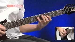 Legato Technique Hammer On / Pull Offs Developing Strength Guitar Lesson 1 Sample | Sam Bell