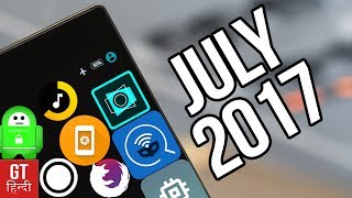 TOP 10 BEST ANDROID APPS JULY 2017 (Hindi- हिन्दी)