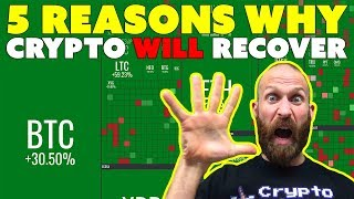 5 Reasons Why Crypto WILL Recover