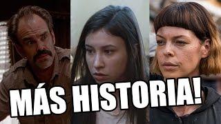 TRES ACTORES ASCENDIDOS, Y MÁS HISTORIA! - The Walking Dead Temporada 8