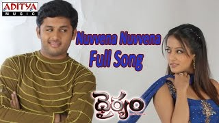 Nuvvena Nuvvena Full Song ll Dhairyam Movie ll Nithin, Raima Sen