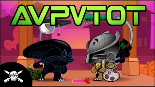 A.V.P.V.T.O.T. (Alien Vs Predator Vs Trick-Or-Treating) - A Halloween Short by James