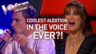 INCREDIBLE looping artist WINS The Voice   Winner
