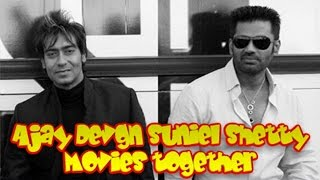 Ajay Devgn and Suniel Shetty Movies together : Bollywood Films List 🎥 🎬