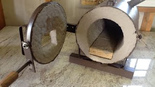 My Custom Blacksmith Propane Forge Build - Start to Finish