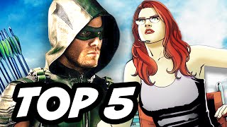 Arrow Season 4 Episode 11 - TOP 5 WTF and Easter Eggs