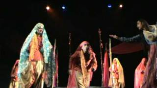 A clip from Bengali drama Madhabi presented by ace theater group Nandikar