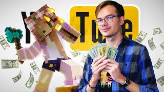MINECRAFT WEALTH AFFIRMATION • WRONG SIDE OF YOUTUBE
