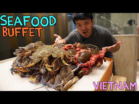 BEST All You Can Eat SEAFOOD Buffet in Saigon VIETNAM