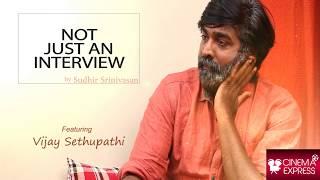 Not just an interview: Sudhir Srinivasan chats with Vijay Sethupathi