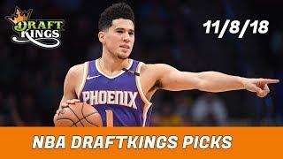 11/8/18 NBA DraftKings Picks - Money Six