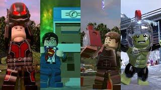 Best Superhero Suit Ups in Lego videogames!