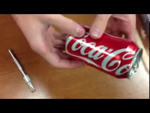 DIY Cheap and easy ish Soda Can Stirling engine