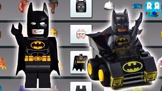 LEGO Juniors Create & Cruise - Batman And The Bat Mobile