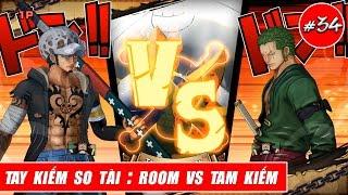 Song đấu One Piece : Trận đấu giữa Room vs Tam kiếm - Zoro vs Law