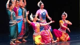 Odissi Shantakaram by the Omkara Indian dance theatre, Moscow