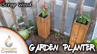 Make A Simple Scrap Wood Planter