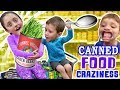 Download Video Download LEXI LOVES CANNED FOODS + Mouthguard, Funny Upside Faces & Food Coloring Mess FUNnel Vision 3GP MP4 FLV