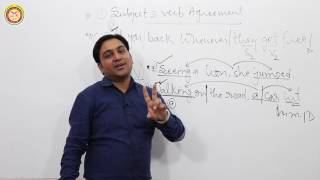 Subject & Verb Agreement Part 1 English Video Tutorial For SSC 2017 best explanation J.S. Yadav Sir
