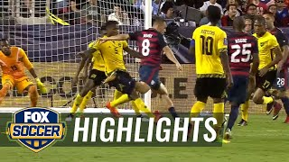 USA vs. Jamaica | 2017 CONCACAF Gold Cup Highlights