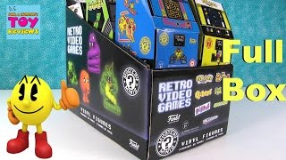 Retro Video Games Funko Mystery Minis Vinyl Figures Unboxing | PSToyReviews
