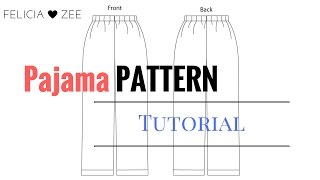 How To Make A Pajama Pants Pattern