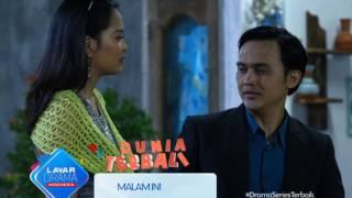 """RCTI Promo Layar Drama Indonesia """"DUNIA TERBALIK"""" Episode 210 & 211"""