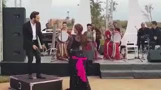 عثمان مولين والراقصة مايا