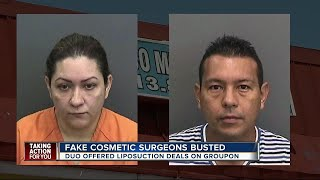 Deputies: Fake doctors arrested after performing liposuction without licenses in Tampa