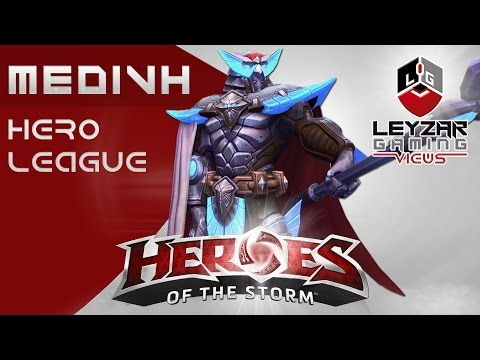 Heroes of the Storm Ranked Gameplay - Medivh Utility Build (HotS Medivh Gameplay Hero League)