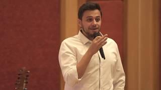 الموسيقى هي ترجمان العاطفه | Yousef Ghaith | TEDxUniversityofJordan