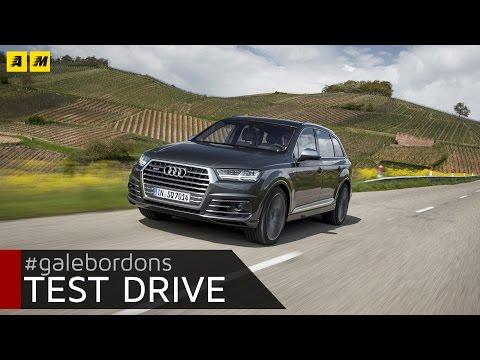 Audi SQ7 Test drive rock da 435 cavalli ENGLISH SUB
