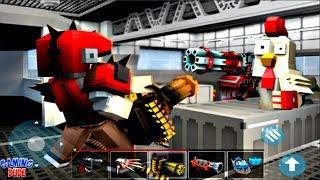 Mad GunZ - Pixel Shooter | Gameplay Walkthrough Part 1 | (iOS, Android )