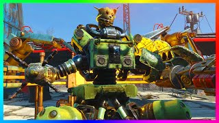 FALLOUT 4 AUTOMATRON DLC GAMEPLAY! - NEW ROBOTS, WEAPONS, LOCATIONS & MORE!