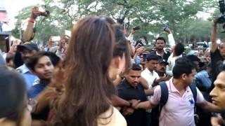Urvashi Rautela in Pune Close Up Shot