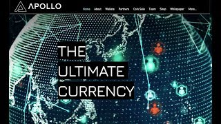 Apollo Currency - The Ultimate Crypto Currency | Features  & Token Sale