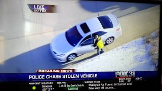 Guy thinks he's in Grand Theft Auto